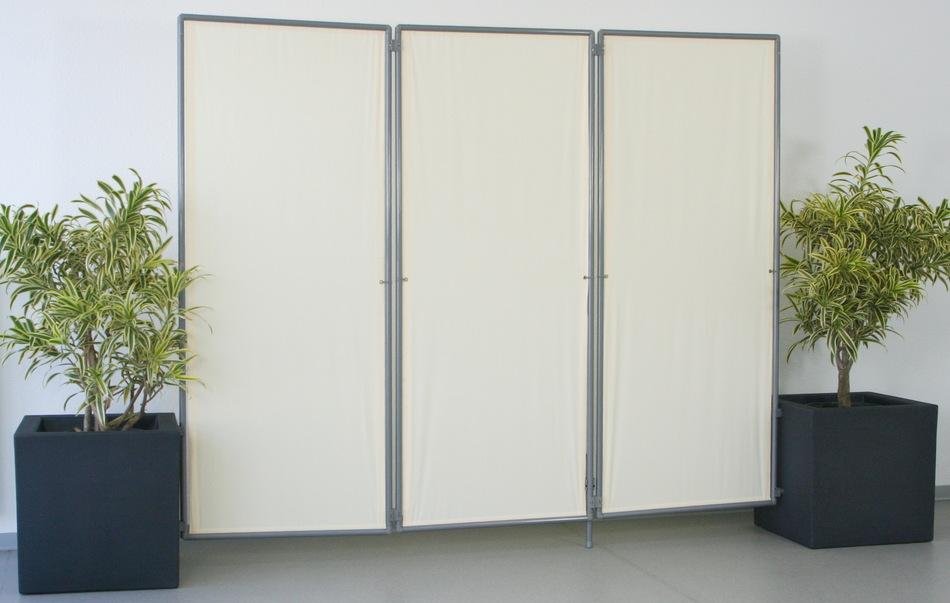 steckbare paravents als mobile erste hilfe kabinen zur medizinischen erstversorgung. Black Bedroom Furniture Sets. Home Design Ideas