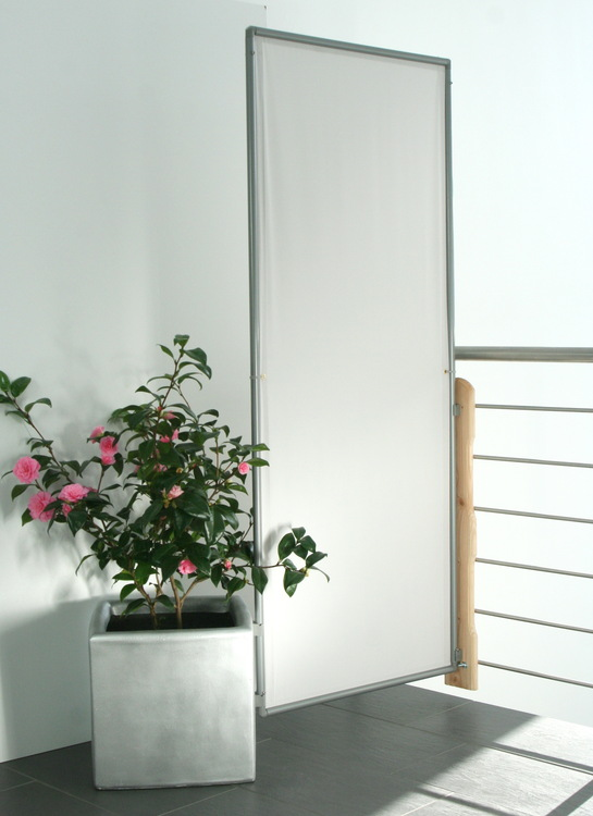 sichtschutz paravent im garten. auf terrasse und balkon, Garten und Bauen