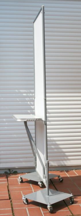 steckbarer klapptisch, indoor & outdoor - mobiler sichtschutz paravent, Garten und Bauen