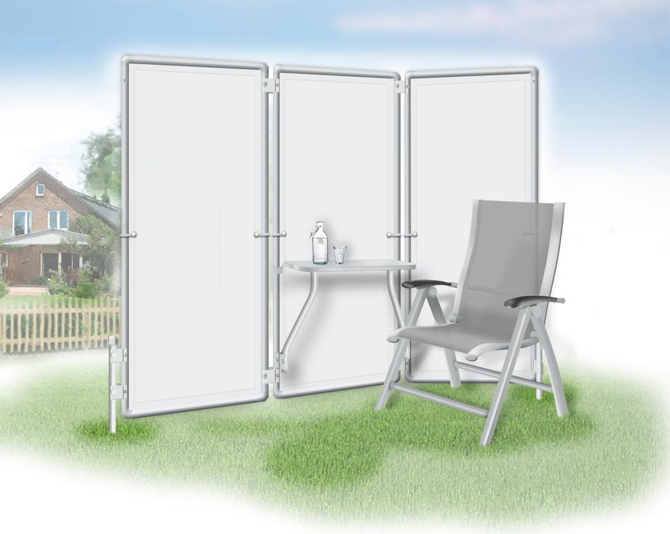 mit einem sichtschutz paravent einen flexiblen raucherbereich einrichten nur von peddy shield. Black Bedroom Furniture Sets. Home Design Ideas