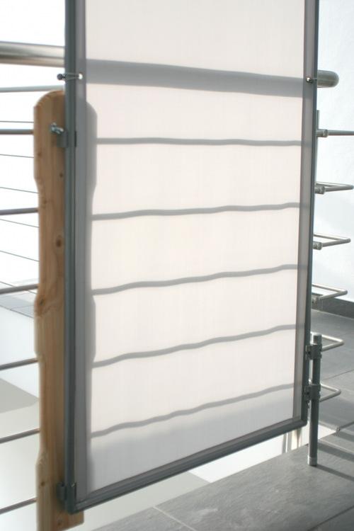 windschutz paravents f r bereiche auf rasen mit schraub. Black Bedroom Furniture Sets. Home Design Ideas