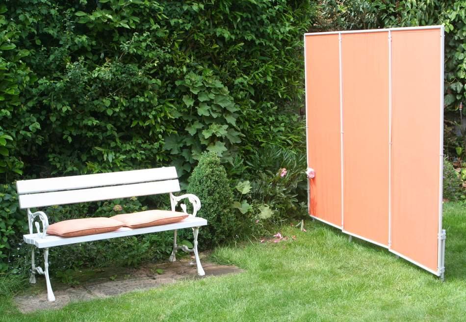 sauna windschutz im au enbereich. Black Bedroom Furniture Sets. Home Design Ideas